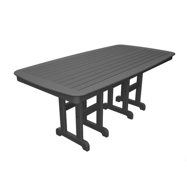 Yacht Club Plastic Dining Table by Trex Outdoor