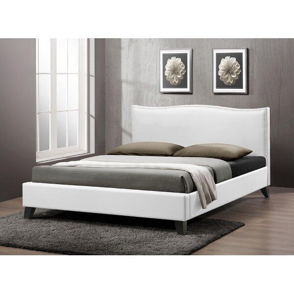 Wooler Upholstered Platform Bed by Wrought Studio