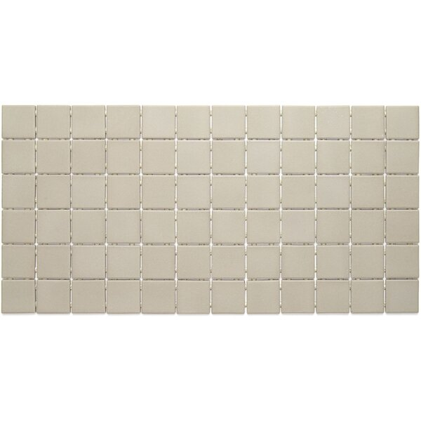 Dalton 12 x 24 Porcelain Mosaic Tile in Architectural Gray by Itona Tile