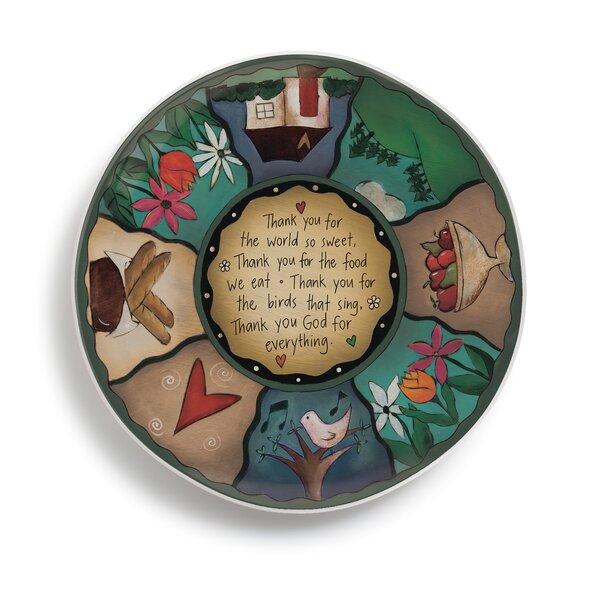 Sweet Table Prayer Lazy Susan Platter by DEMDACO