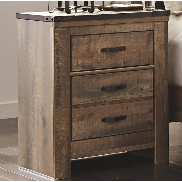 Tyrel 2 Drawer Nightstand by Viv + Rae