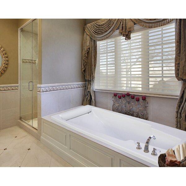 Designer Premier 74 x 42 Soaking Bathtub by Hydro Systems