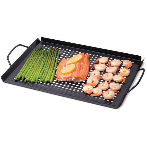 Nonstick Grill Rectangle BBQ Topper by Corona