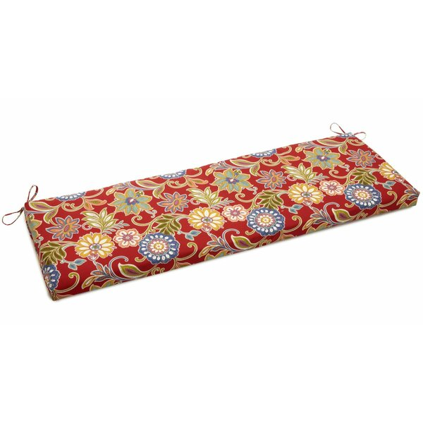 Weather Resistant Indoor/Outdoor Bench Cushion by Andover Mills