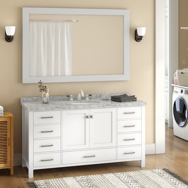 Marine 61 Single Bathroom Vanity Set by Andover Mills