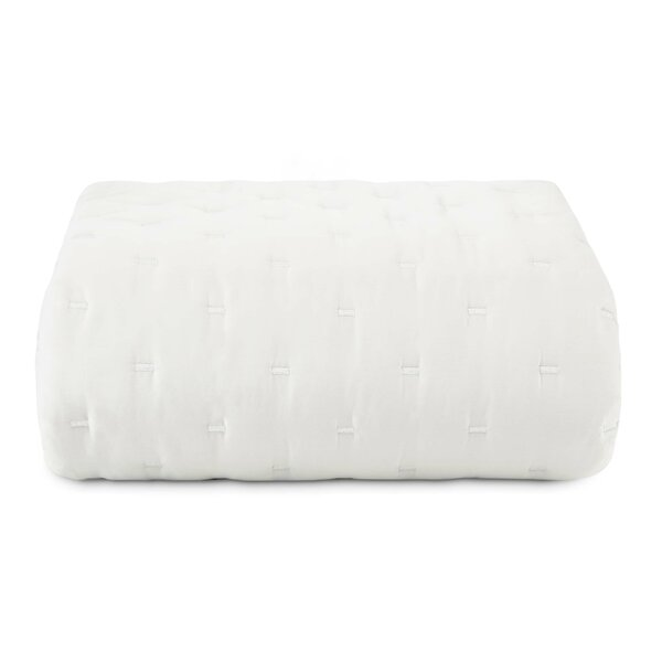 Luster Cotton Throw by Vera Wang