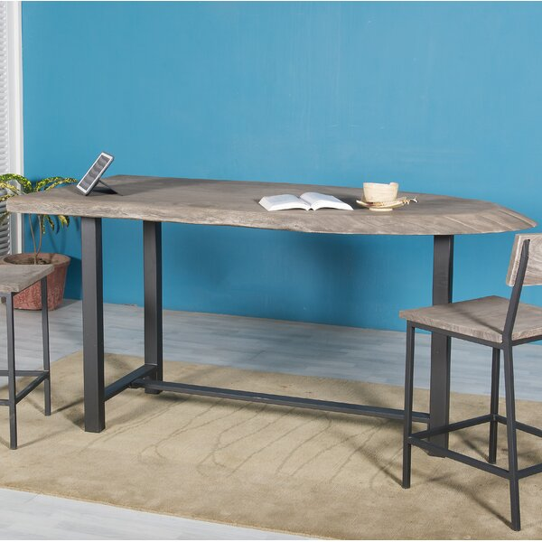 Speedwell Counter Height Solid Wood Dining Table by Union Rustic