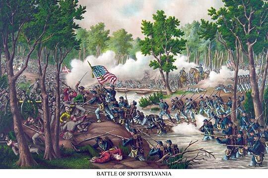 buyenlarge battle of spotsylvania courthouse painting print wayfair