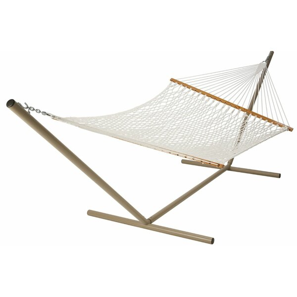 Futral Deluxe Rope Polyester Tree Hammock by Millwood Pines