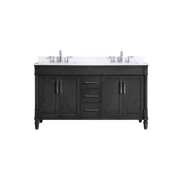 Layla 60 Double Bathroom Vanity Set by Ove Decors
