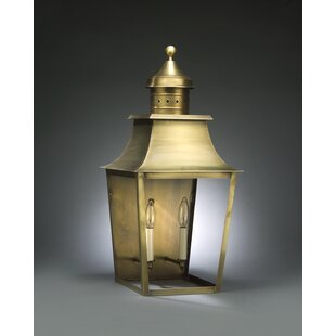 Find the perfect Sharon 2-Light Outdoor Flush Mount By Northeast Lantern