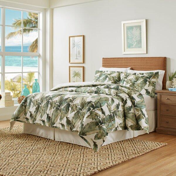 Fiesta Palms Cotton Reversible Comforter Set
