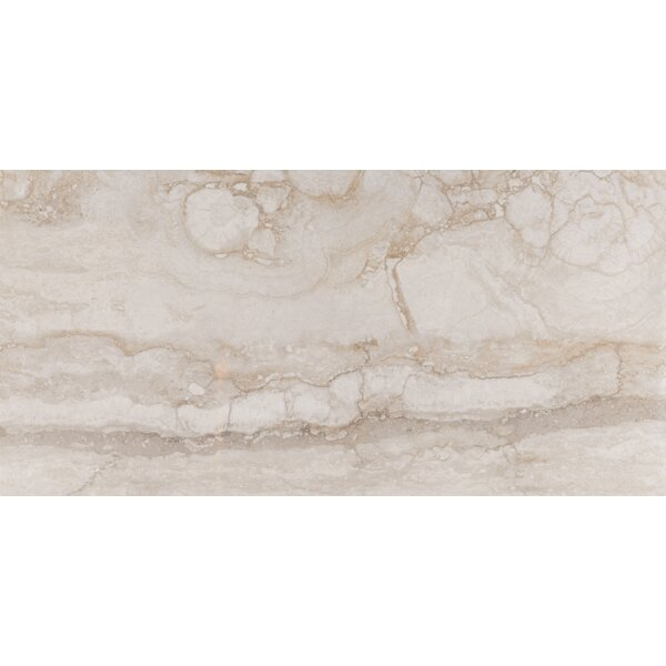 Bernini Camo 12 x 24 Porcelain Field Tile in Beige by MSI