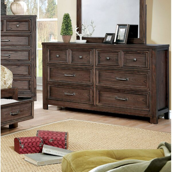 Cuvier 8 Drawer Double Dresser by Loon Peak