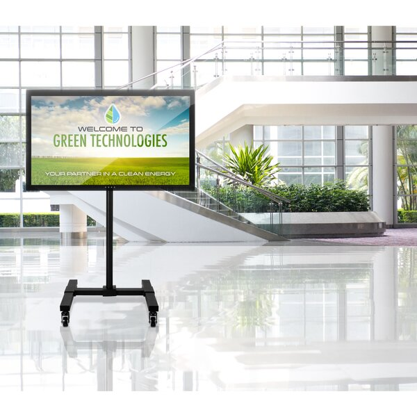 Gould TV Floor Portable Pedestal Display Height Adjustable Fixed Stand Mount 13