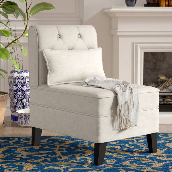 Carrie Slipper Chair by Winston Porter