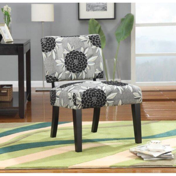 Yancheva Slipper Chair by Ebern Designs
