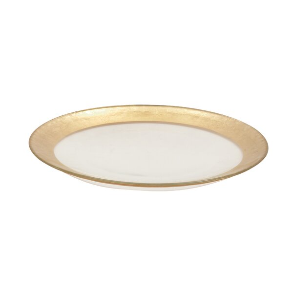 Glass Band Charger Platter by Cole & Grey