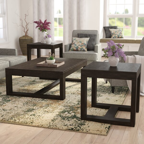 Muscogee Occasional 3 Piece Coffee Table Set By Brayden Studio