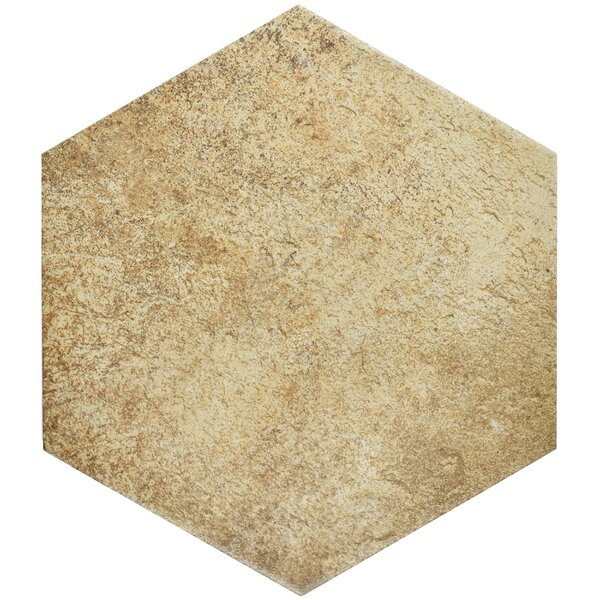 Morales 8.63 x 9.88 Porcelain Mosaic Tile in Brown/Beige by EliteTile