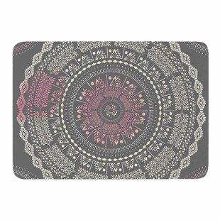 Culture Cut Boho Mandala By Famenxt Memory Foam Bath Mat