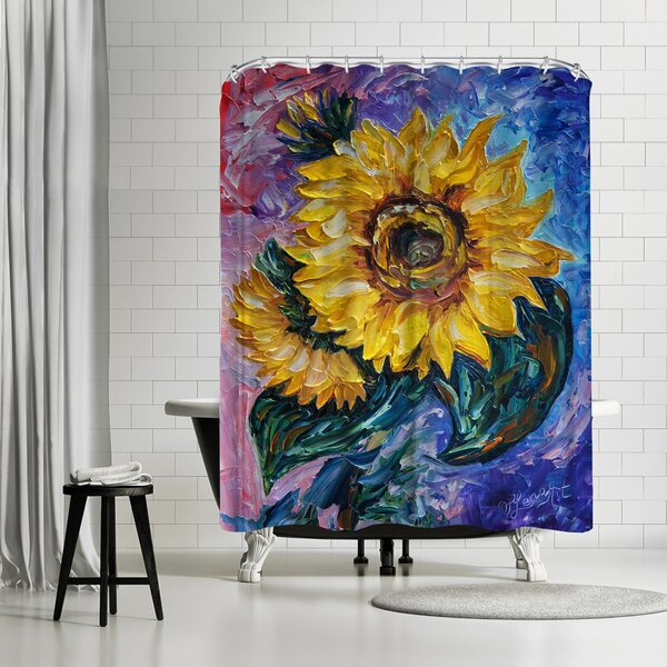 OLena Art That Sunflower From the State Shower Curtain by East Urban Home