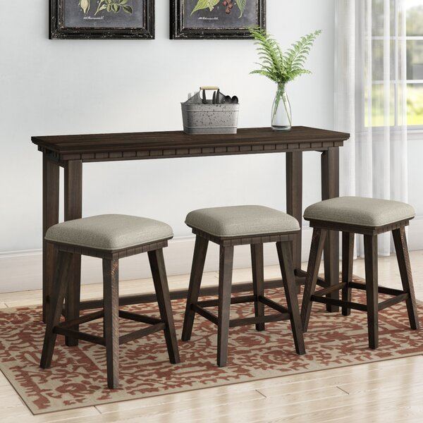 Suzann Multi-purpose 4 Piece Pub Table Set by Laurel Foundry Modern Farmhouse Laurel Foundry Modern Farmhouse