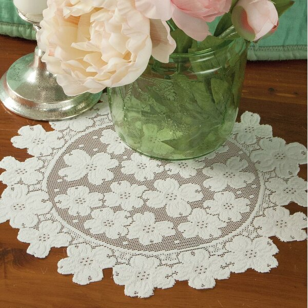 Mika Round Doily (Set of 4) by August Grove