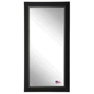 Wood Framed Floor Mirror   Wayfair