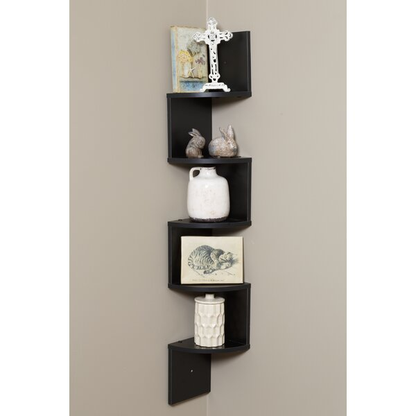 5 Tier Corner Shelf by OneSpace