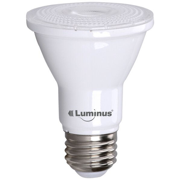7W PAR20/Medium LED Light Bulb Pack of 6 (Set of 6) by Luminus