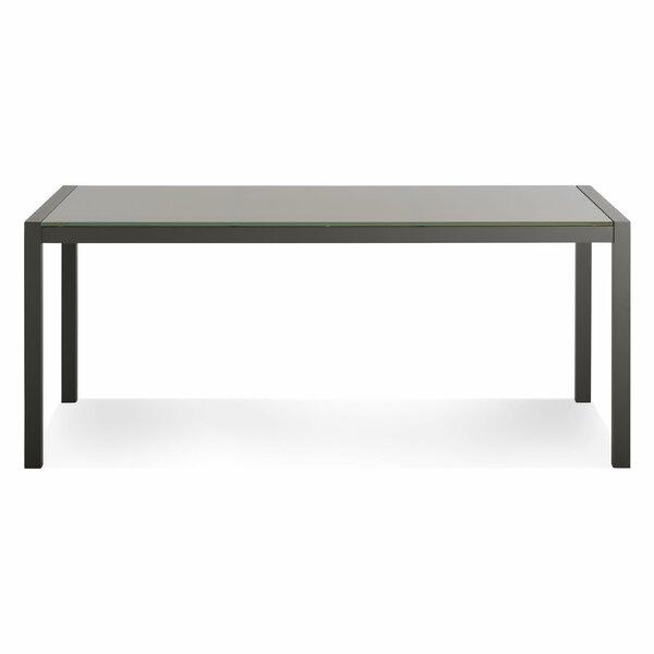Skiff  Metal  Dining Table by Blu Dot