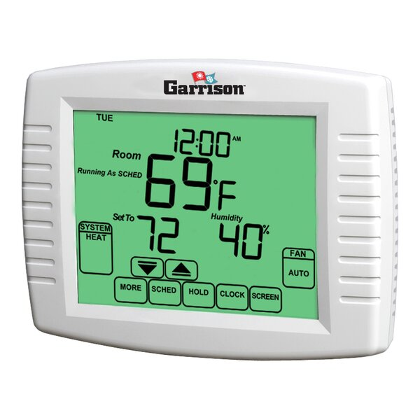 Garrison Touchscreen Thermostat by Garrison
