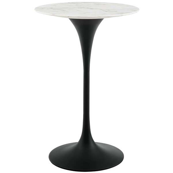 Hesson Artificial Marble Pub Table by George Oliver