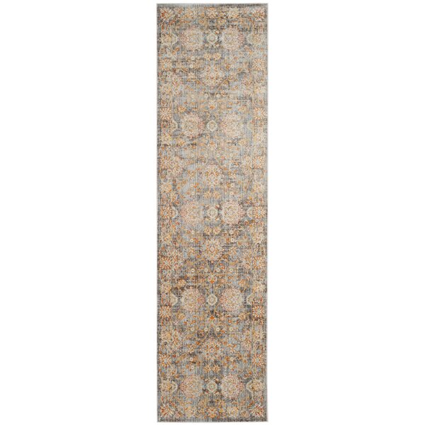 Aronwold Light Brown/Multi-Colored Area Rug by Bungalow Rose