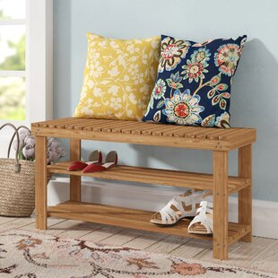 Castagna Wood Storage Bench