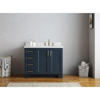 48 Inch Right Offset Vanity | Wayfair