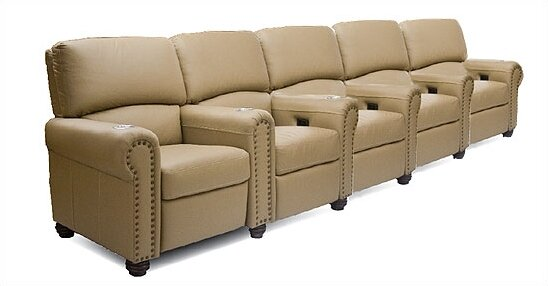 Showtime Home Theater Row Seating (Row Of 5) By Bass