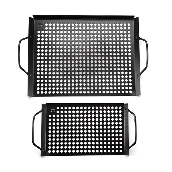 Non-Stick 2 Piece Grill Grid Set by Outset