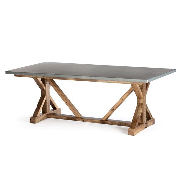 Schulte Solid Wood Dining Table By Gracie Oaks | kitchen