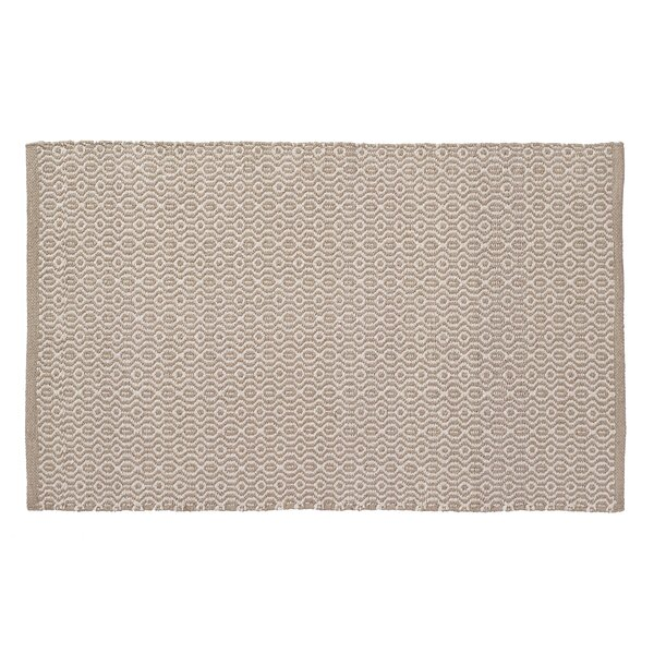 Madison Jacq Hand-Woven Beige/Cream Indoor/Outdoor Area Rug by Home Furnishings by Larry Traverso