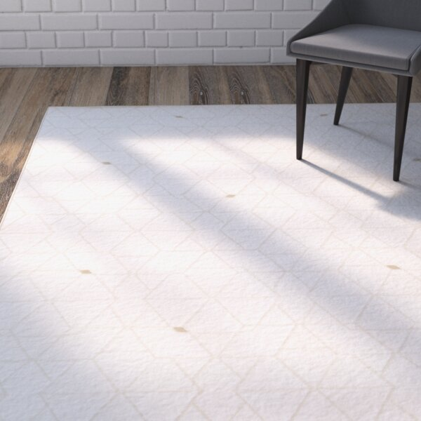Mcdowell Neutral/Brown Area Rug by Wrought Studio