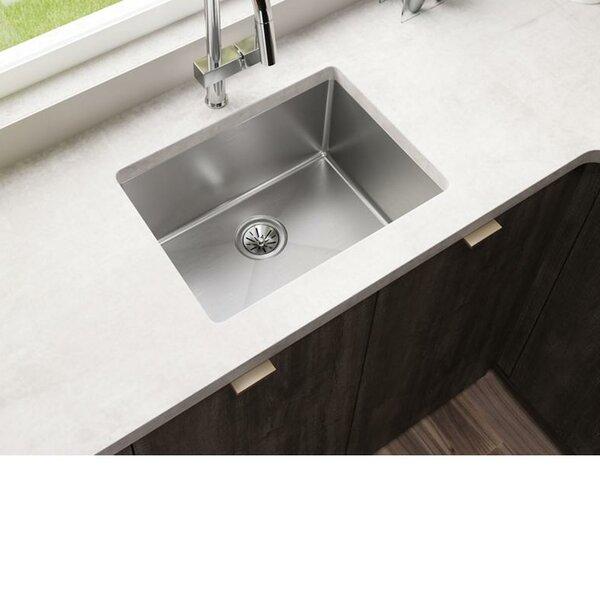 Crosstown 16 Gauge 24 L x 18 W Undermount Kitchen Sink