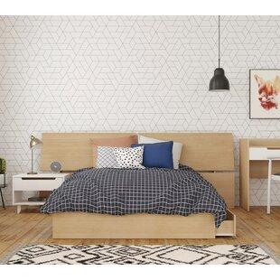 Leesburg Platform 3 Piece Bedroom Set ByEbern Designs