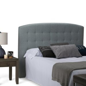 Alana Queen Upholstered Panel Headboard by Simpli Home
