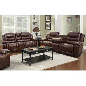 Ottawa 2 Piece Leather Living Room Set