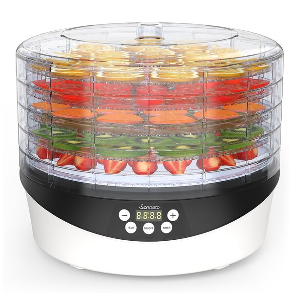 5 Tray Food Dehydrator by LANGRIA