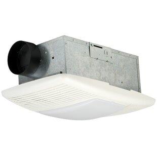 Bathroom exhaust fan with light and heat wayfair bathroom ventilation fan 70 cfm aloadofball Choice Image