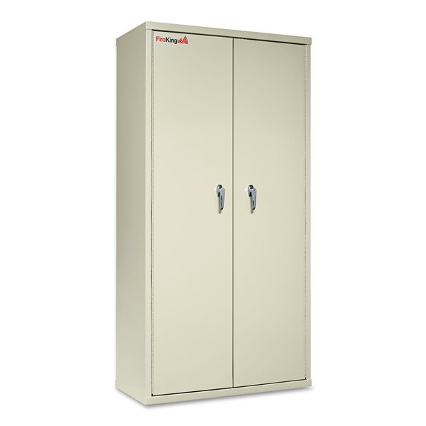 4-Shelf Storage Cabinet