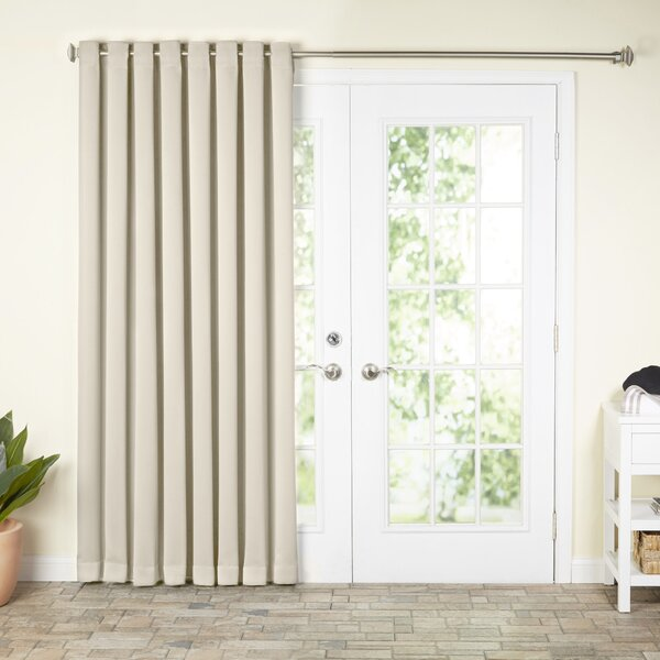 Wayfair Basics Solid Blackout Thermal Grommet Single Curtain Panel by Wayfair Basics™